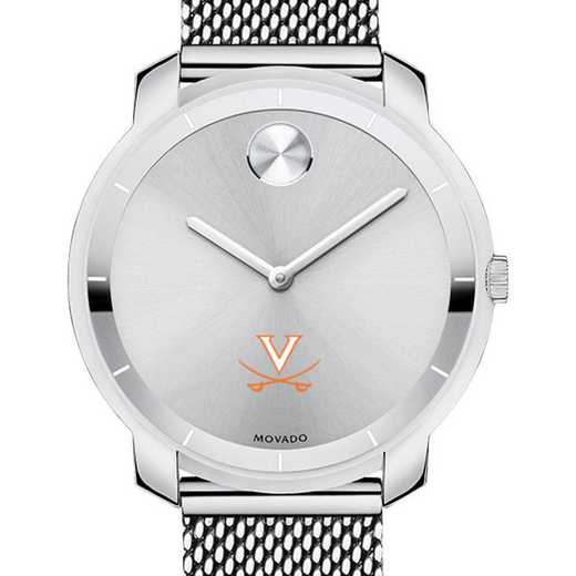 615789240761: Univ of Virginia Women's Movado Stainless Bold 36