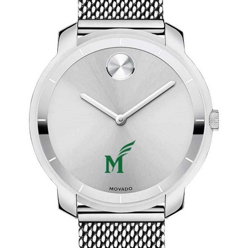 615789252795: George Mason Univ Women's Movado Stainless Bold 36