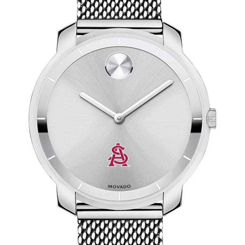 615789273257: Arizona State Women's Movado Stainless Bold 36