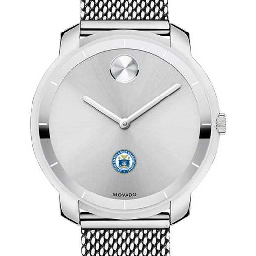 615789303428: US Coast Guard Academy Women's Movado Stainless Bold 36