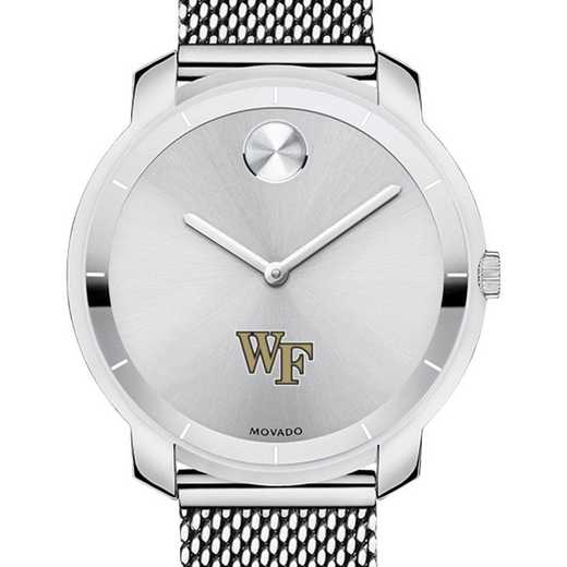615789429937: Wake Forest Univ Women's Movado Stainless Bold 36