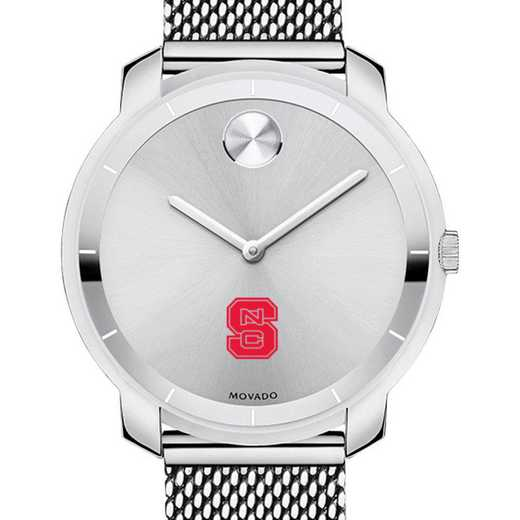615789491323: North Carolina State Women's Movado Stainless Bold 36