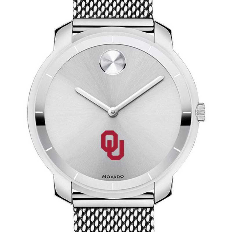 615789537403: Univ of Oklahoma Women's Movado Stainless Bold 36