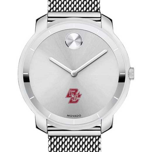 615789580287: Boston College Women's Movado Stainless Bold 36