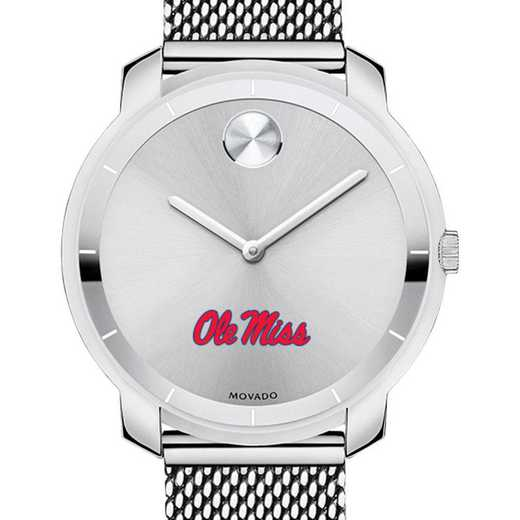 615789708636: Univ of Mississippi Women's Movado Stainless Bold 36