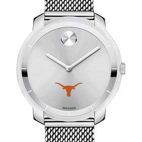 615789743781: Univ of Texas Women's Movado Stainless Bold 36