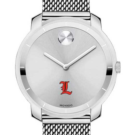 615789757849: University of Louisville Women's Movado Stainless Bold 36