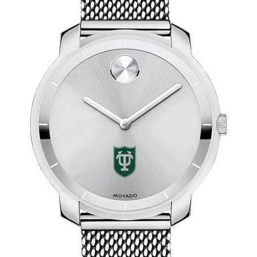 615789780823: Tulane Univ Women's Movado Stainless Bold 36