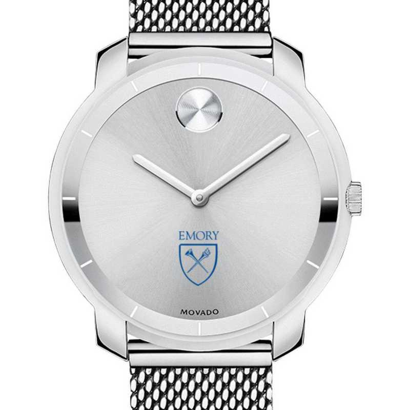 615789781516: Emory Univ Women's Movado Stainless Bold 36