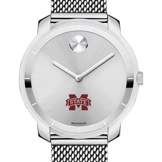 615789920090: Mississippi State Women's Movado Stainless Bold 36