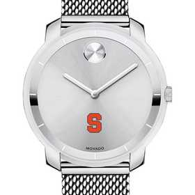 615789930624: Syracuse Univ Women's Movado Stainless Bold 36