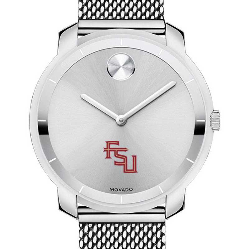 615789952633: Florida State Univ Women's Movado Stainless Bold 36