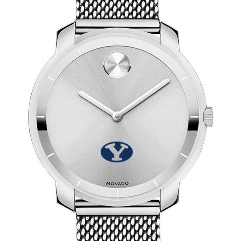 615789979555: Brigham Young Univ Women's Movado Stainless Bold 36