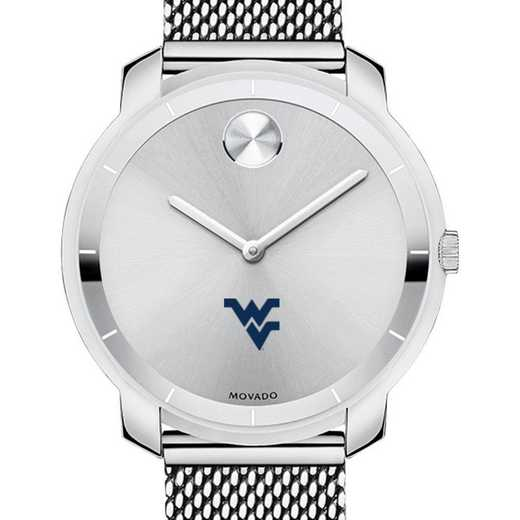 615789999959: West Virginia Univ Women's Movado Stainless Bold 36