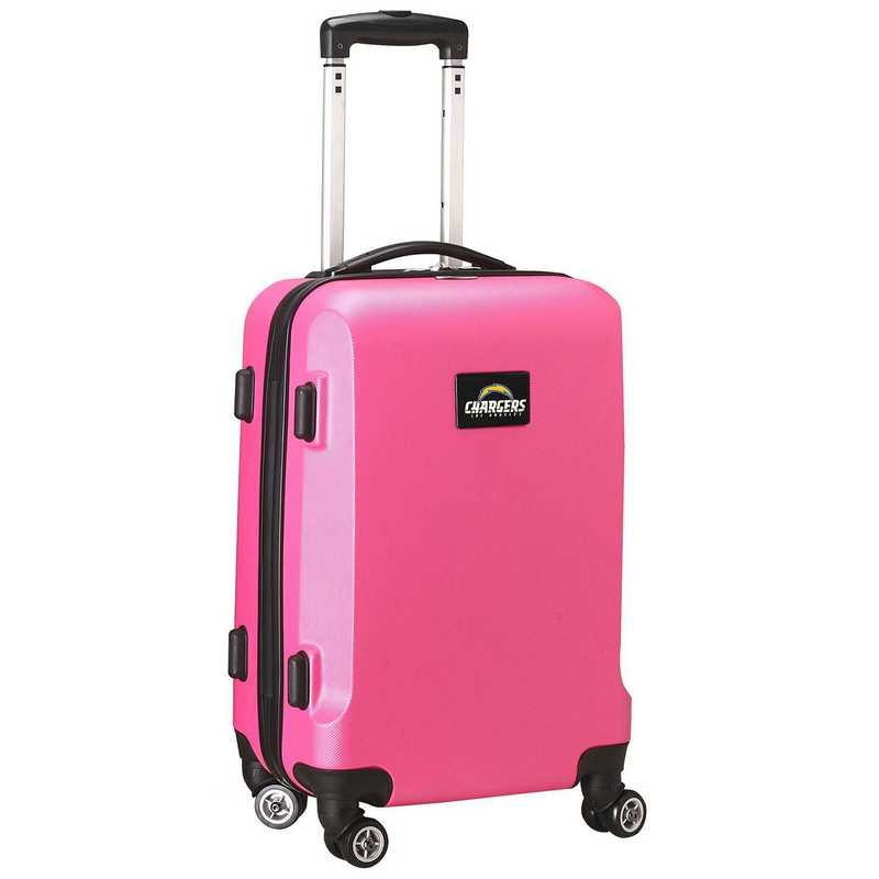 NFLCL204-PINK: NFL Los Angeles Chargers    21IN Hardcase Spinner PNK