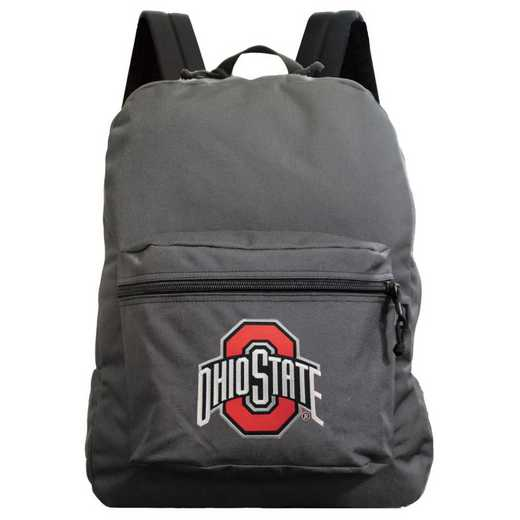 "CLOSL710-GRAY: 16"" Made in USA Premium Backpack"