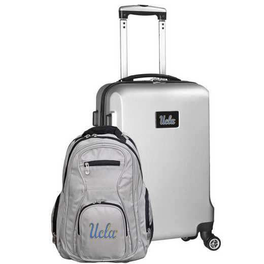 CLCAL104-SILVER: UCLA Bruins Deluxe 2PC BP / Carry on Set