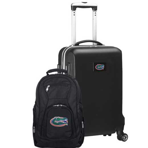 CLFLL104-BLACK: Florida Gators Deluxe 2PC BP / Carry on Set