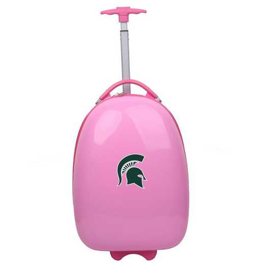 CLMSL601-PINK: NCAA Michigan State Spartans Kids Luggage