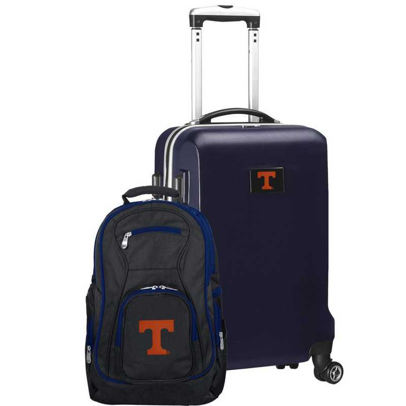 CLTNL104-NAVY: Tennessee Vols Deluxe 2PC BP / Carry on Set