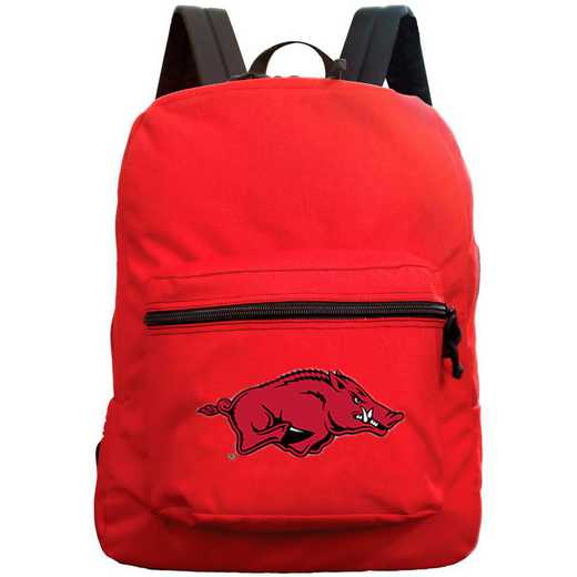 "CLARL710-RED: 16"" Made in USA Premium Backpack"