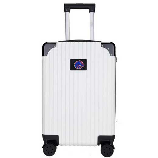 "CLBSL210-WHITE: Boise State Broncos Premium 21"" Carry-On Hardcase"