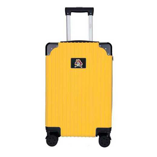 "CLECL210-YELLOW: East Carolina Pirates Premium 21"" Carry-On Hardcase"