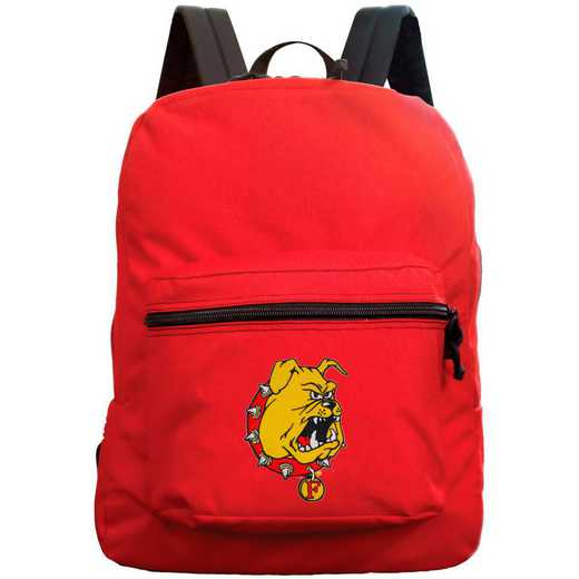 "CLFEL710-RED: 16"" Made in USA Premium Backpack"