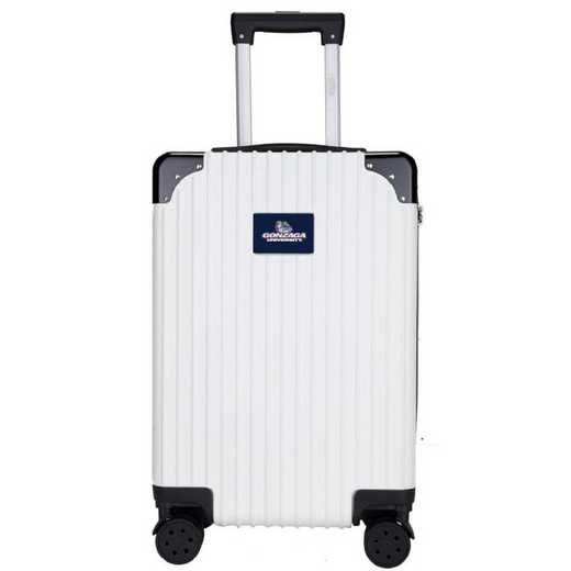 "CLGZL210-WHITE: Gonzaga University Bulldogs Premium 21"" Carry-On Hardcase"