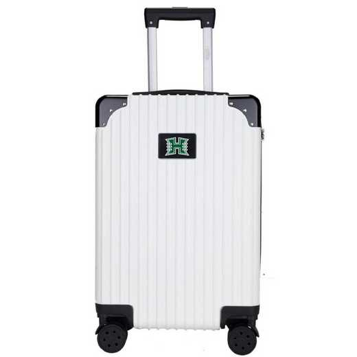 "CLHIL210-WHITE: Hawaii Warriors Premium 21"" Carry-On Hardcase"