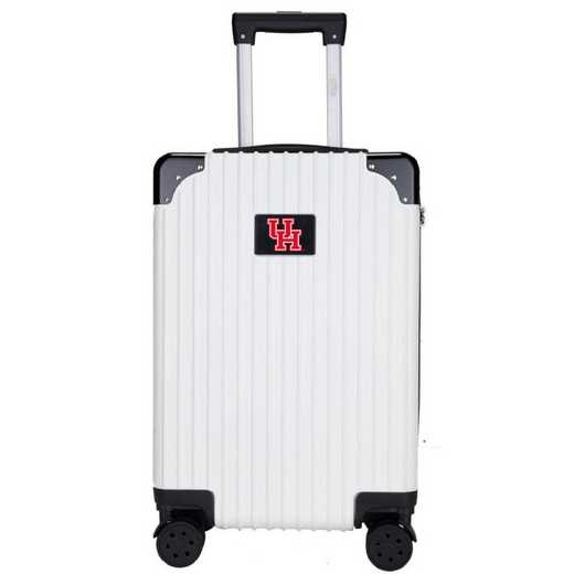 "CLHUL210-WHITE: Houston Cougars Premium 21"" Carry-On Hardcase"