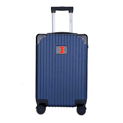 "CLILL210-NAVY: Illinois Fighting Illini Premium 21"" Carry-On Hardcase"