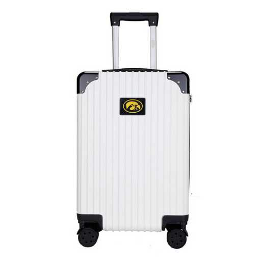 "CLIWL210-WHITE: Iowa Hawkeyes Premium 21"" Carry-On Hardcase"