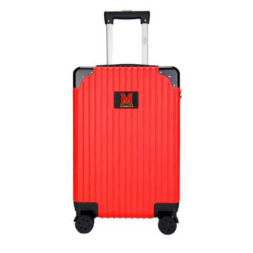 "CLMDL210-RED: Maryland Terrapins Premium 21"" Carry-On Hardcase"