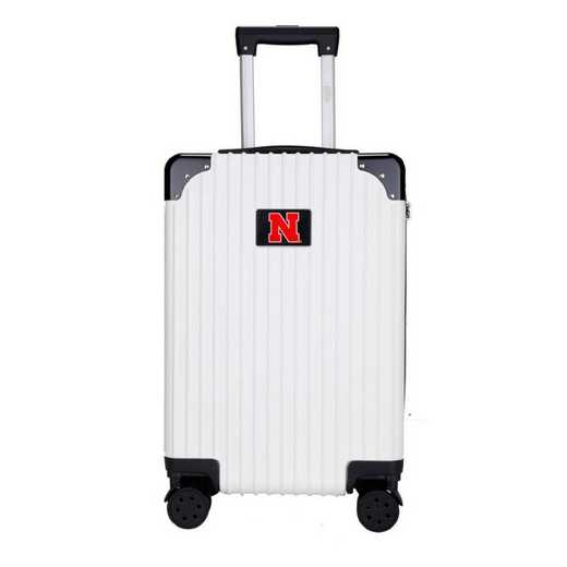 "CLNBL210-WHITE: Nebraska Cornhuskers Premium 21"" Carry-On Hardcase"