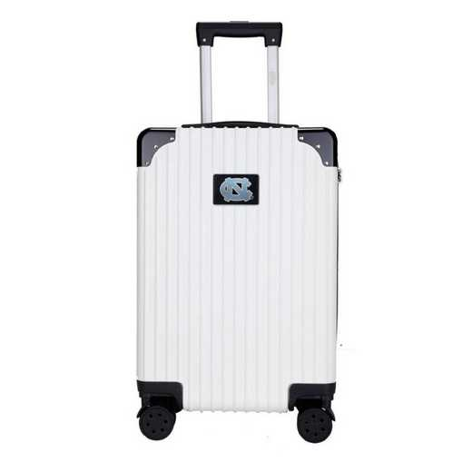 "CLNCL210-WHITE: UNC Tar Heels Premium 21"" Carry-On Hardcase"