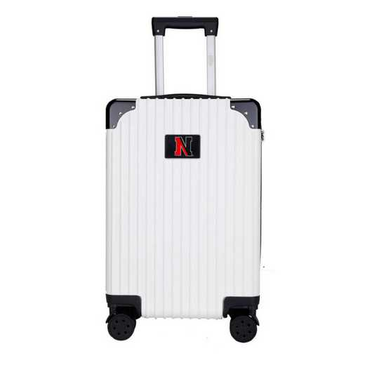 "CLNEL210-WHITE: Northeastern Huskies Premium 21"" Carry-On Hardcase"