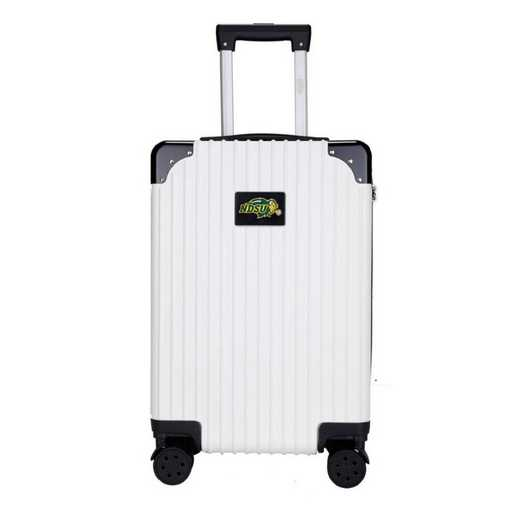 "CLNUL210-WHITE: North Dakota State Bison Premium 21"" Carry-On Hardcase"