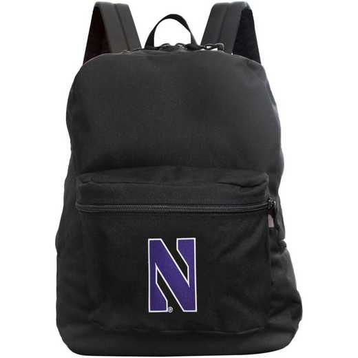 "CLNWL710-BLACK: 16"" Made in USA Premium Backpack"