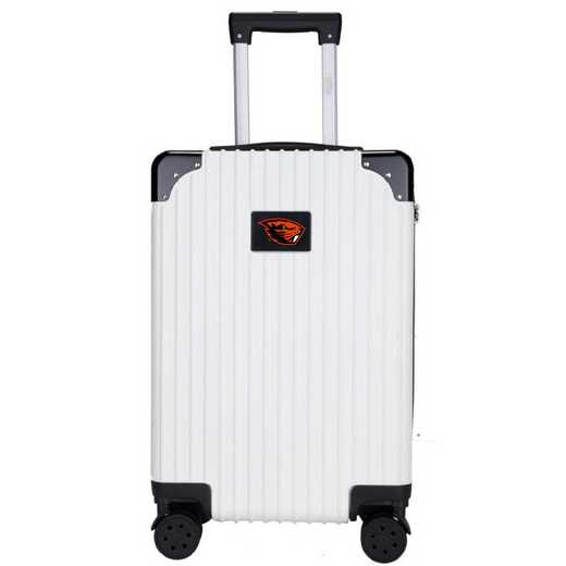 "CLOGL210-WHITE: Oregon State Beavers Premium 21"" Carry-On Hardcase"