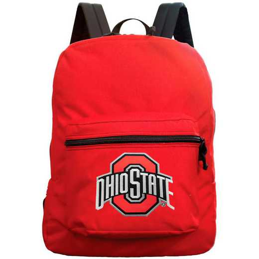 "CLOSL710-RED: 16"" Made in USA Premium Backpack"