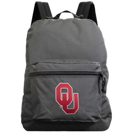 "CLOUL710-GRAY: 16"" Made in USA Premium Backpack"
