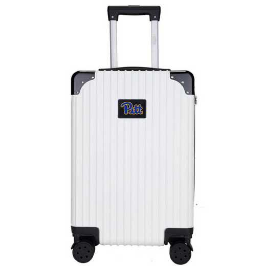 "CLPIL210-WHITE: Pittsburgh Panthers Premium 21"" Carry-On Hardcase"