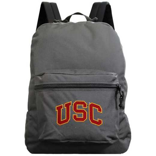 "CLSCL710-GRAY: 16"" Made in USA Premium Backpack"
