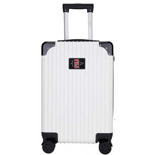 "CLSGL210-WHITE: San Diego State Aztecs Premium 21"" Carry-On Hardcase"