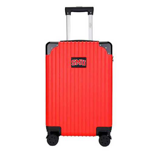 "CLSML210-RED: Southern Methodist Mustangs Premium 21"" Carry-On Hardcase"