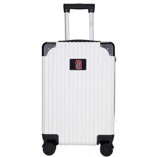 "CLSUL210-WHITE: Stanford Cardinal Premium 21"" Carry-On Hardcase"