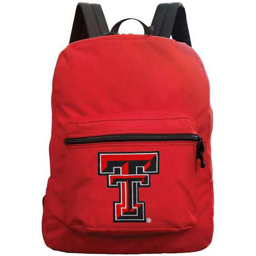 "CLTTL710-RED: 16"" Made in USA Premium Backpack"
