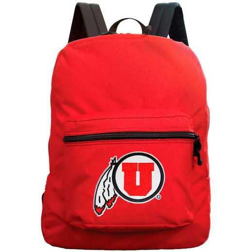 "CLUTL710-RED: 16"" Made in USA Premium Backpack"