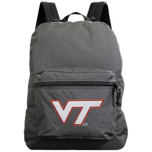 "CLVTL710-GRAY: 16"" Made in USA Premium Backpack"